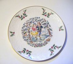 Royal Doulton First of a Series 1977 Christmas Plate by parkledge, $75.00
