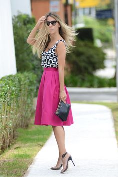 glam4you blog nati vozza: Pink & Black & White