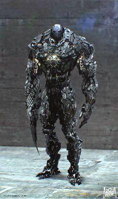 Phenomenal X-MEN DAYS OF FUTURE PAST Sentinel Concept Art by Maciej Kuciara « Film Sketchr