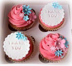 Teacher/thank you cupcakes....
