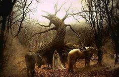 The tree of the dead