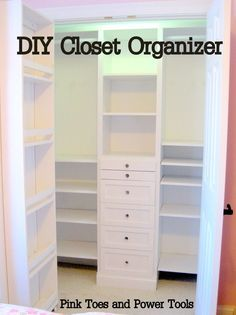 Woohoo the reveal! I love. love. love this closet organizer. I couldn't be happier with it. More importantly Pip is happy with it and she is excited that she can find all her stuff in there now! The viking hat got a place of honor 🙂 Dress up jewelry for now! What do you think?...Read More »