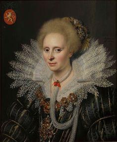 Michael Janz. van Mierevelt Portrait of a woman ca. 1620