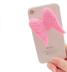 Angel wings holder for iphone / DAYENU design #angel