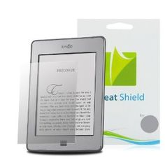 GreatShield Ultra Anti-Glare (Matte) Clear Screen Protector Film for Amazon Kindle (2011), Kindle Touch, Kindle Keyboard, Kindle 2nd Generation (3 Pack), (screen protectors, anti-glare, greatshield, sara)