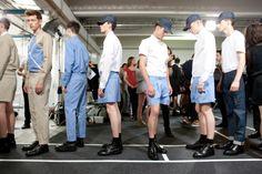 KRISVANASSCHE 2013 Spring/Summer Runway Show and Backstage Visuals | HYPEBEAST
