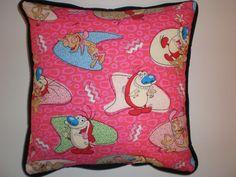 Ren & Stimpy Pillows by GoughGoodies on Etsy