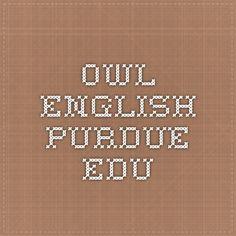 owl.english.purdue.edu