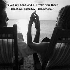Hold my hand & I'll take you there