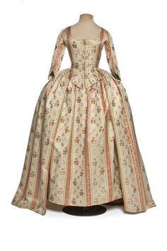 Robe à l'Anglaise, 1780s  Les Arts Décoratifs