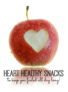 YUM! My very favorite heart-healthy snacks to keep you fueled all day long!