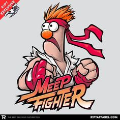 Meep Fighter Exclusive - RIPT Apparel