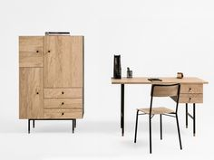 JUGEND Writing desk by Woodman design Says Who Design
