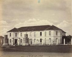 Manila. Vista de la cárcel pública, en el sitoi de Bilibid  Álbum de Filipinas     Publicación: , [ca. 1870]
