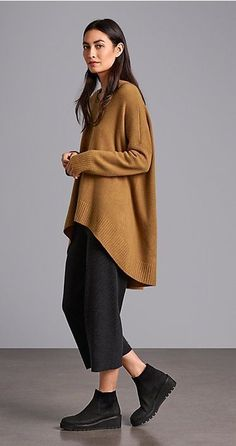Clothes For Women Fall Eileen Fisher 64 Super Ideas Legging Outfits, Mode Outfits, Fashion Outfits, Womens Fashion, Fashion Ideas, Sporty Outfits, Ladies Fashion, Eileen Fisher, Looks Style