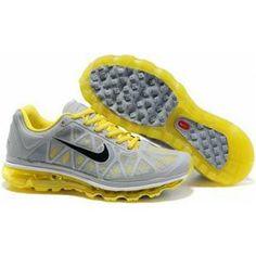 brand new 8a2fa e616b Hommes Nike Air Max 2011 Netty Gris Jaune 88,98 Air Max 2009,