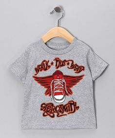 Take a look at this Gray Aerosmith Walk This Way Tee - Toddler & Kids by Headline Entertainment on #zulily today!