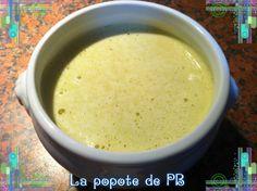Soupe laitue asperges