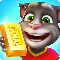 Talking Tom Gold Run 1.4.1.674 MOD APK Unlimited Gold  action games