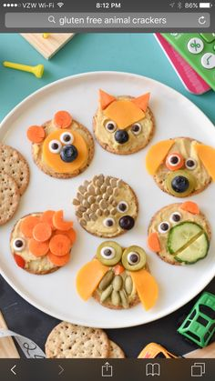 Craft ideas with food on plates motivate for a healthier life - Decoration Solutions Kids Cooking Recipes, Cooking With Kids, Baby Food Recipes, Kids Dishes, Food Dishes, Healthy Meals For Kids, Kids Meals, Cute Food, Good Food
