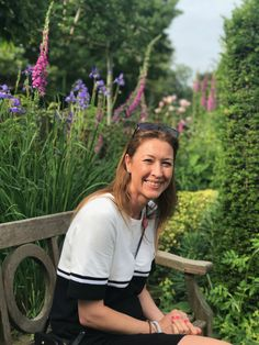 Our lovely co-founder Lou, sat in the beautiful gardens of Hole Park, Rolveden where we attended the Wealden Times Summer Fair 2018.