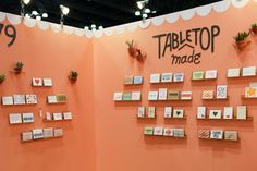 National Stationery Show 2013, Part 1 - Tabletop Made