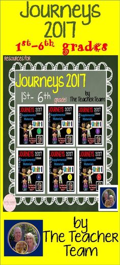 Is Journeys 2017 new for you this year? Have no fear, help is on the way! Check out our supplemental resources for 1st-6th grades. Go to our store, look to the left, and find your Journeys grade level and find the 2017 products.