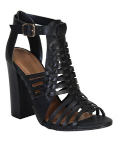 Take a look at this Black Stash T-Strap Sandal today!