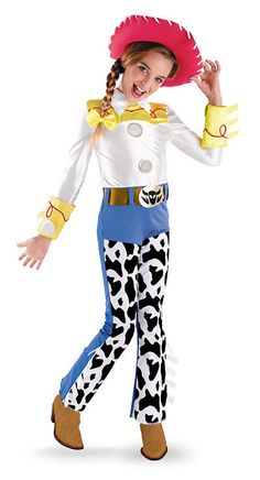 Toy Story-Jessie Deluxe Toddler Costume