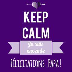 Annoncer une grossesse par mms à la personne de votre choix - pour papa. ©LFP