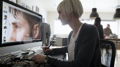View top-quality stock photos of Female Photo Editor Using Graphics Tablet Editing Digital Photograph On Computer In Office. Find premium, high-resolution stock photography at Getty Images. Monitor For Photo Editing, Crop Tool, Edit Your Photos, Simple Photo, Latest Technology News, Perfect Image, Photos Of Women, Photo Look, Photo Archive