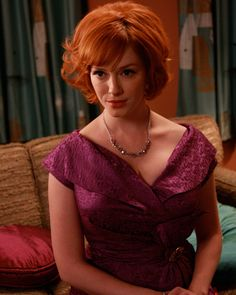 Joan Holloway - adore the hair