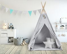 We are more than happy to present one of our New Arrivals from HaNaBu. We strive to bring a bit of magic to your home and to create a cozy nook that both your baby and yourself will love from the very first sight. Hanabu teepee is a place where sweet tea parties taste best, fun and
