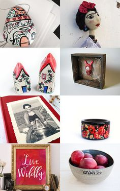 A Touch of Red by Jody on Etsy--Pinned with TreasuryPin.com