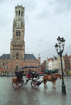 La Plaza Mayor - Brugge, Belgium in my top 5 favorites towns of all time sooo picturesque