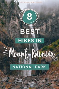 The Best Mount Rainier National Park Hikes Canada Travel, Travel Usa, Travel Tips, Travel Destinations, Quebec, Vancouver, Columbia, Mt Rainier National Park, Toronto