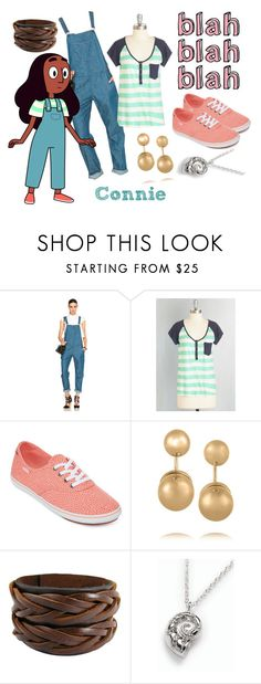 """""""Connie open book"""" by theartfart ❤ liked on Polyvore featuring rag & bone/JEAN, Vans, Kenneth Jay Lane and Talbots"""