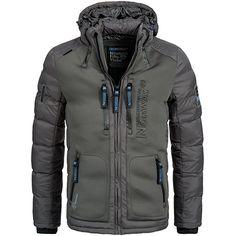 Shoppen Sie Geographical Norway BREVSTER Herren Winterjacke Jacke Outdoor Ski warm Gr. S-XXXL 2-Farben, Größe:S;Farbe:Grau auf Amazon.de:Jacken