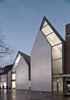Volksbank Gifhorn by Stephan Braunfels Architekten ~ Ʀεƥɪииεð вƴ╭•⊰✿ © Ʀσxʌиʌ Ƭʌиʌ ✿⊱•╮