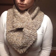 A personal favorite from my Etsy shop https://www.etsy.com/ca/listing/251132690/knit-keyhole-scarf-hand-knitted-cowl