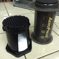 AeroPress lite! #aeropress #coffee #travel #minimal #backpacking #lifehacks #expressotogo #fresh http://ift.tt/1Vbg53z