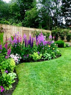 48 fresh front yard and backyard landscaping ideas for your home 22 - Meadow Garden Flower Landscape, Budget Garden, Landscape Design, Backyard Landscaping Designs, Green Backyard, Cottage Garden, Plants, Backyard Landscaping, Backyard