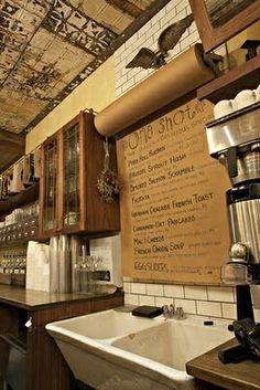 Paper roll menu