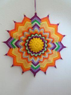 Mandalas Olho de Deus: Mini Mandala