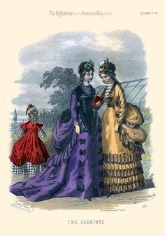 The Englishwoman's Domestic Magazine Fashions, 1869