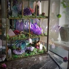 from WildWitchCrystals on Etsy Available NOW! Featuring: Amethyst Rose Quartz Violet Aura Quartz Labradorite Crystal Quartz FluoriteAvailable NOW! Crystal Room, Crystal Decor, Crystal Magic, Crystal Healing, Crystal Altar, Crystal Grid, Crystals Minerals, Rocks And Minerals, Crystals And Gemstones
