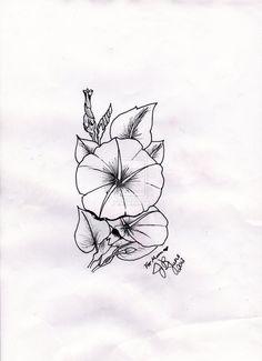 Moonflower Tattoo by JWulfric