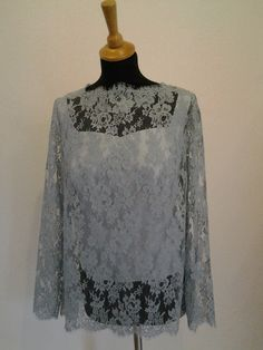 CABOTINE MOTHER OF THE BRIDE DUCK EGG BLUE /& TAUPE LACE DRESS UK16 /& UK18 NEW