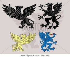 heraldic griffin - Google Search