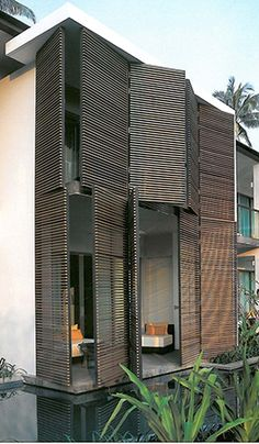 """""""Louvers are very effective in cooling a house. Take for instance the old houses and structures that make use of louvers on top and ventanillas on the lower portion of the window.""""  Louvers let in air while keeping sun and rain out. Nerisse adds, """"If possible, throw hot air out by placing louvers on the roof."""""""